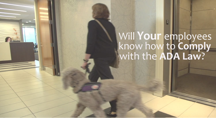 ADA Law for Service Animals- Online Training as it pertains to service dogs in your business